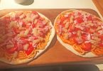 spaghetti e pizza - foto di Bill English su Facebook