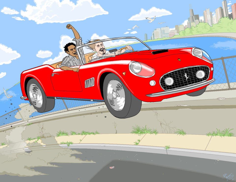 Joyride - Pat Hines Illustration - Facebook