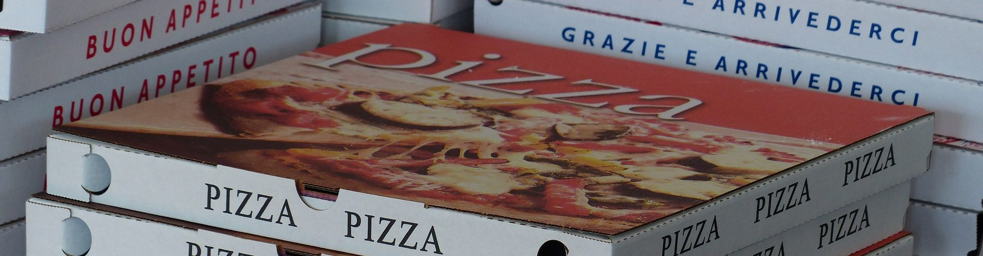 scatole per la pizza